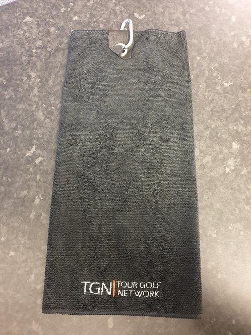 TGN Tri Fold Golf Towel