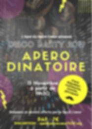 Affiche Apero-dinatoire des parents 15 n