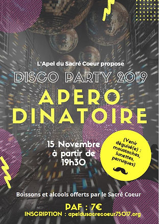 Affiche Apero-dinatoire des parents 15 n
