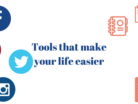 Online Tools that will make your life a little easier