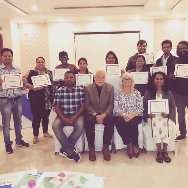 Lamb Intl' Train the Trainer- New Delhi, India