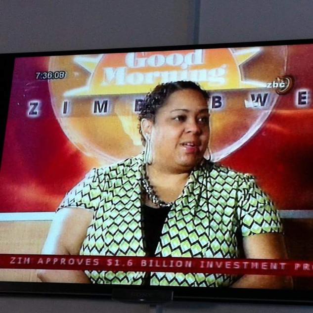 TV & Radio Interview- Harare. Zimbabwe