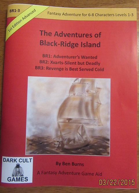 BR 1-3: The Adventures Of Black Ridge Island