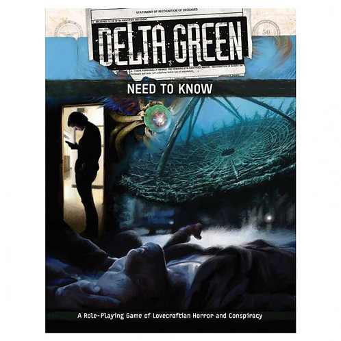 Delta Green: Need to Know - Starter Set