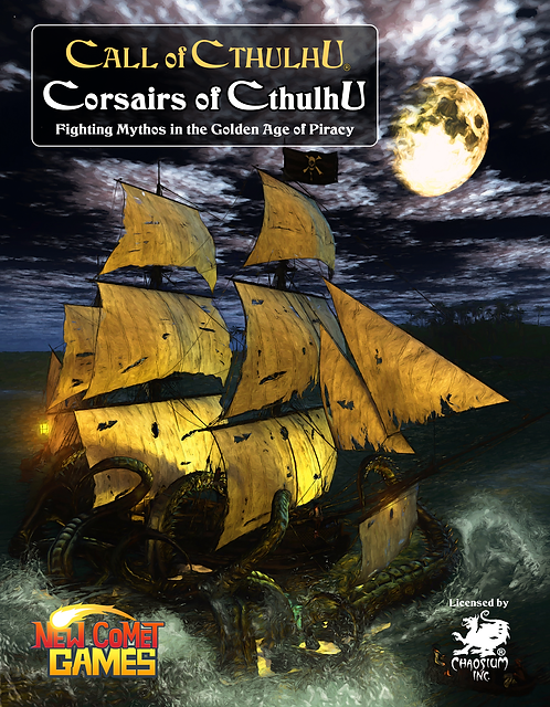 Corsairs of Cthulhu - PreOrder - Book