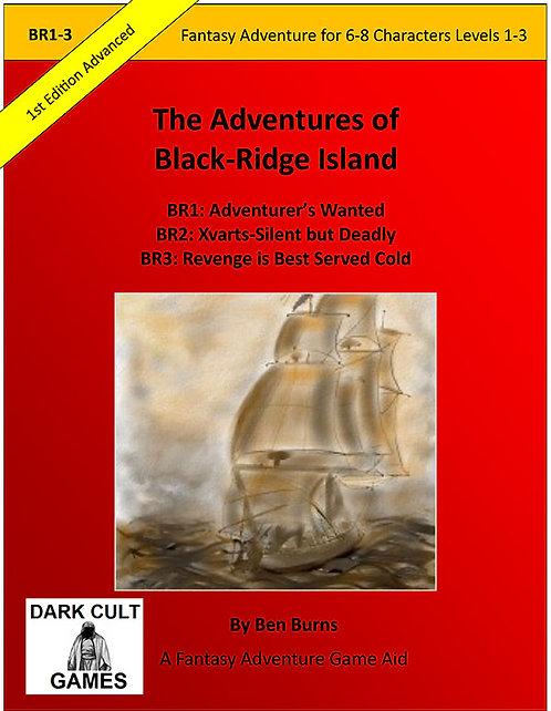 PDF - BR1-3: Adventures On Black Ridge Island