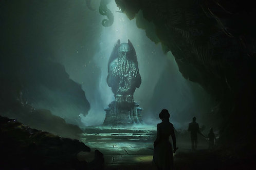 Cthulhu Cave Wallpaper