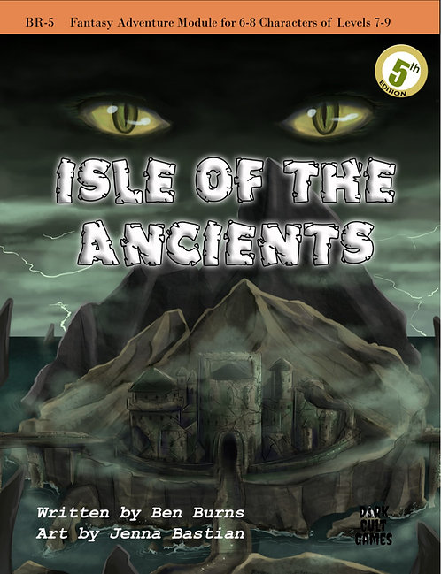 BR 5: Isle of the Ancient 5th Edition