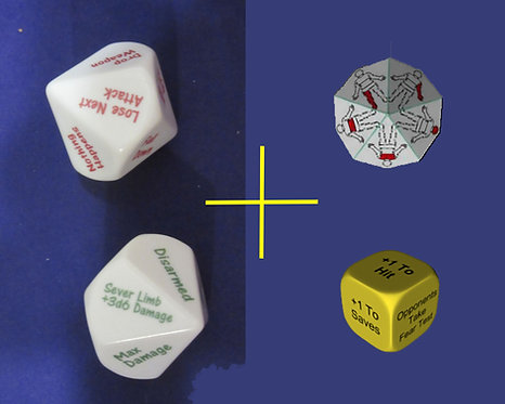Critical Hit and Fumble Dice