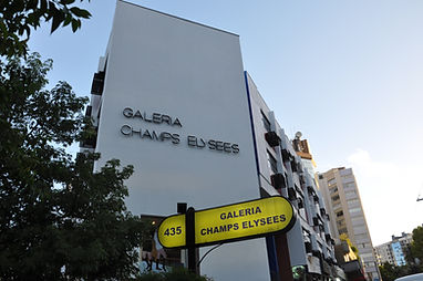 Vista externa da galeria mais tradicional de Porto Alegre