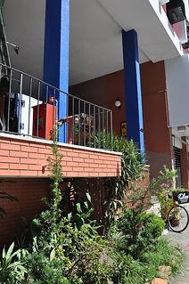 Escada de acesso pela Rua 24 de outubro