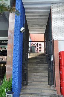 Escada de acesso Rua Florêncio Ygartua