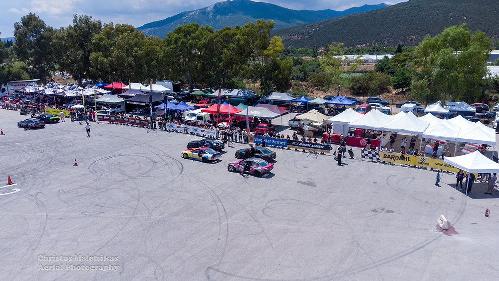 Η πίστα του Marathon Valley αφιερωμένη στο Hellenic Drift Show