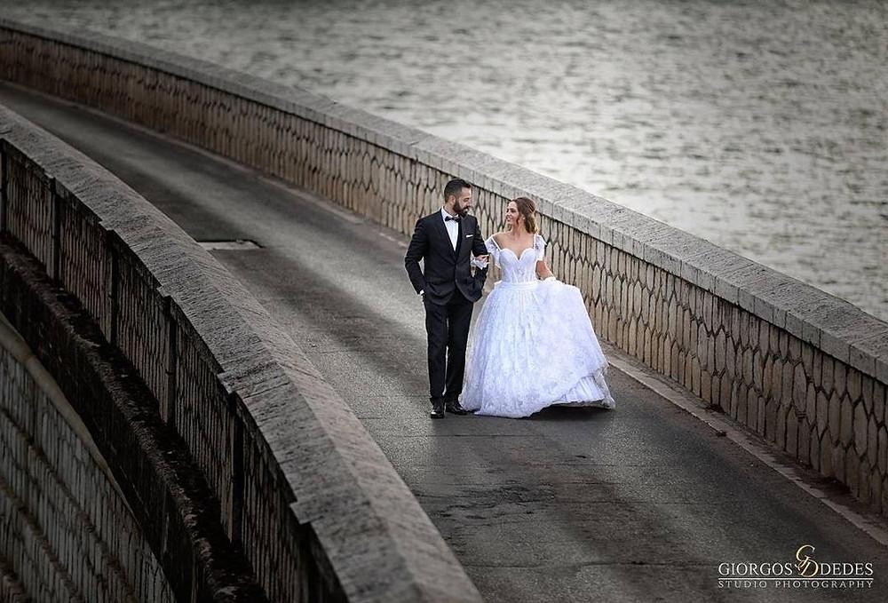 Σήμα κατατεθέν για φωτογράφιση γάμου το μαρμάρινο Φράγμα Μαραθώνα | @giorgos_dedes_photography