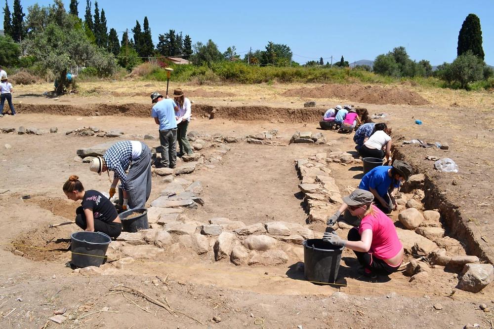 Η Πανεπιστημιακή ανασκαφή στο Πλάσι Μαραθώνα