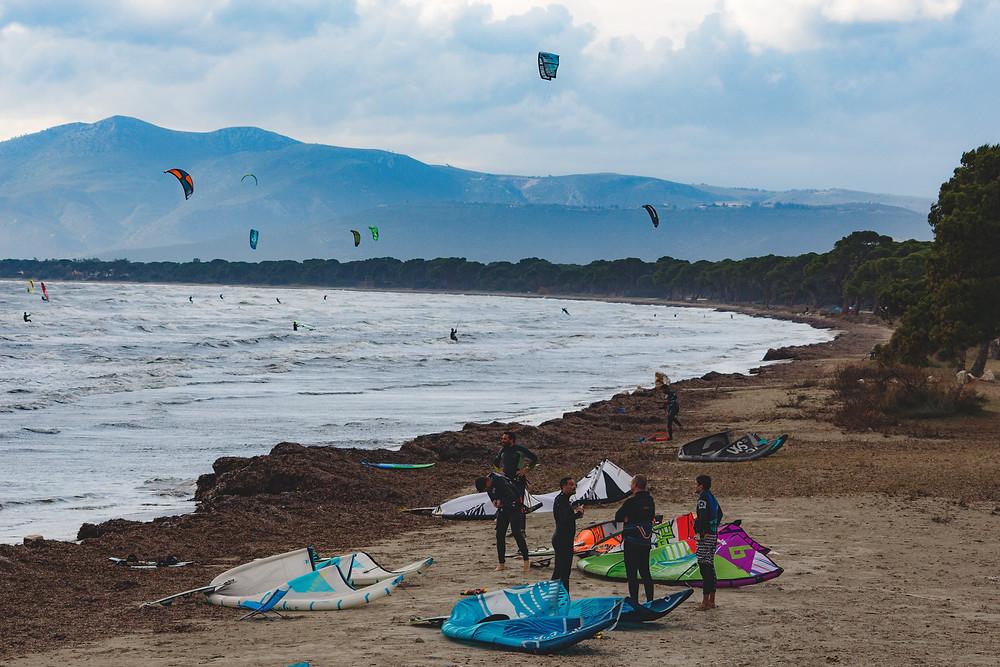kite σχινιάς