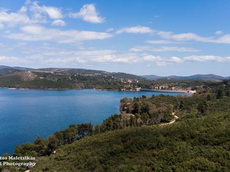 Πεζοπορία στη λίμνη Μαραθώνα   αφετηρία από Άγιο Στέφανο