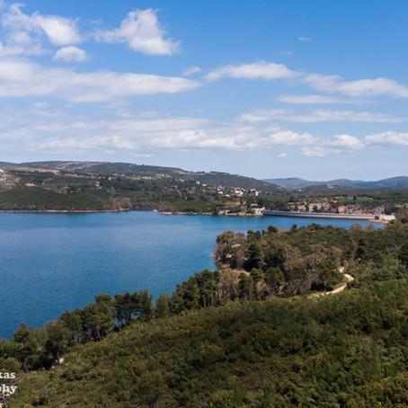 Πεζοπορία στη λίμνη Μαραθώνα | αφετηρία από Άγιο Στέφανο
