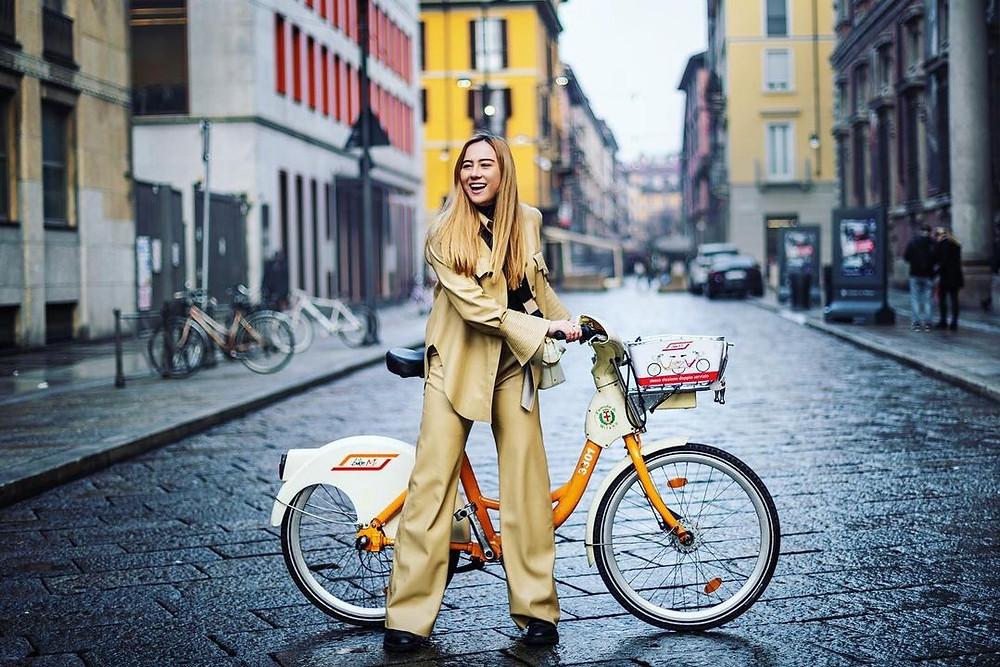 Μιλάνο - Ιταλία  ποδήλατο