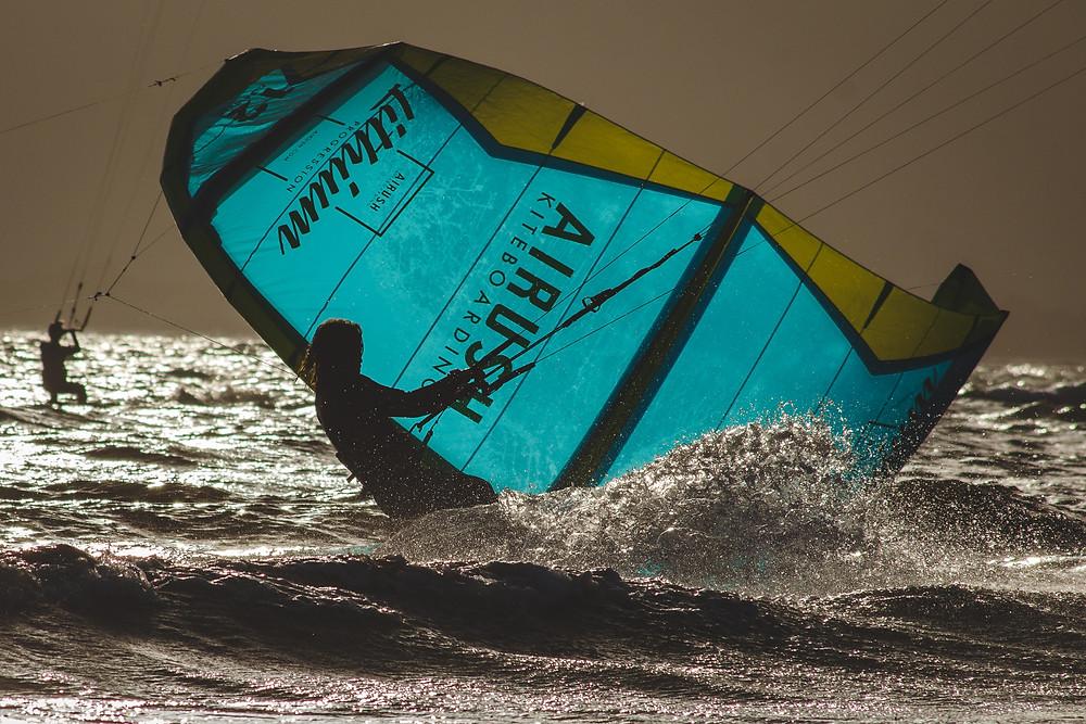 kitesurfing σχινιας