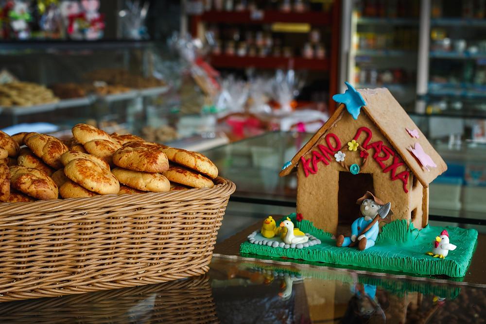 Μυρίζει Πάσχα στο αρτοποιείο Χατζηγαβριήλ !   Φωτ.: Χάρης Φέτερης