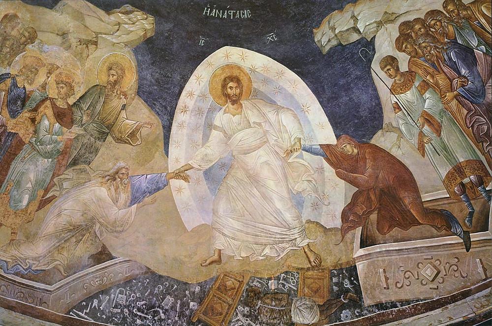 Η Ανάσταση από τον ζωγράφο Φώτη Κόντογλου | Γεννήθηκε στο Αϊβαλί της Μικράς Ασίας το 1895
