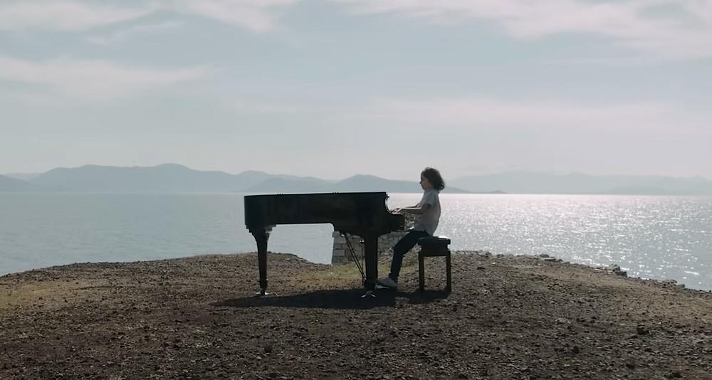 Ο μικρός πιανίστας Στέλιος Κερασίδης