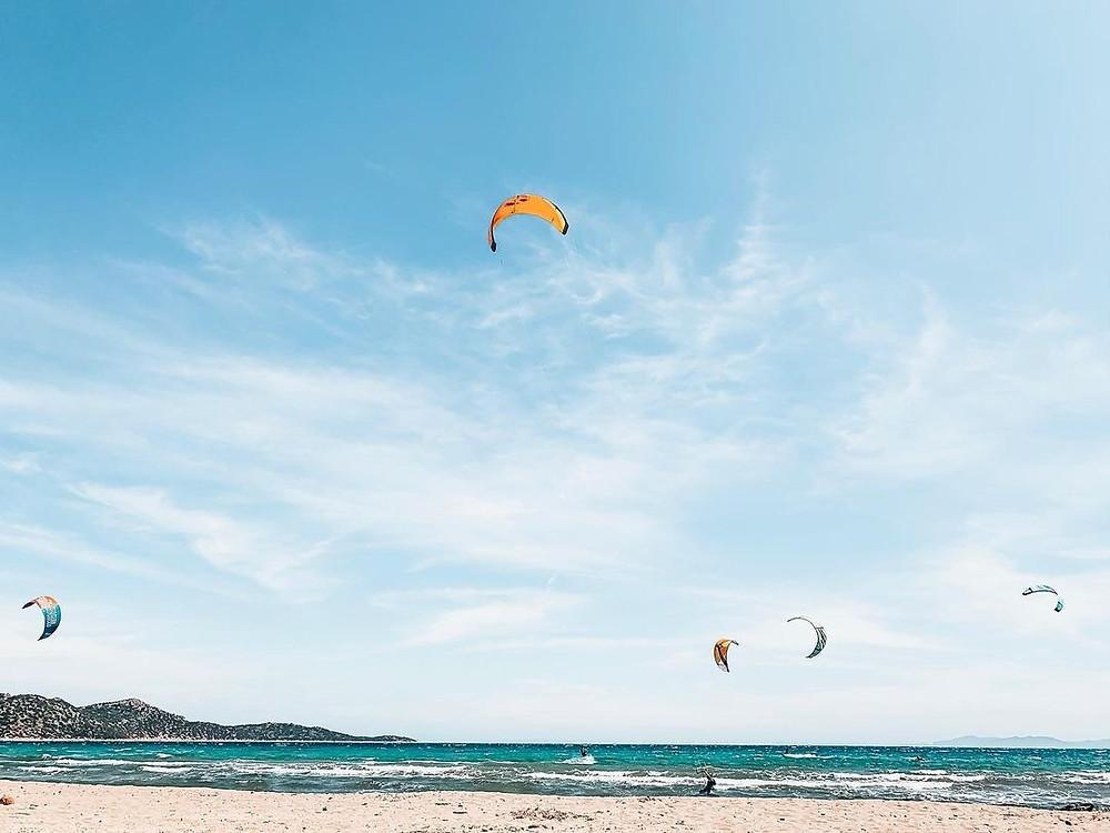 Απολαμβάνοντας την μαγική θέα των kites | @lettou