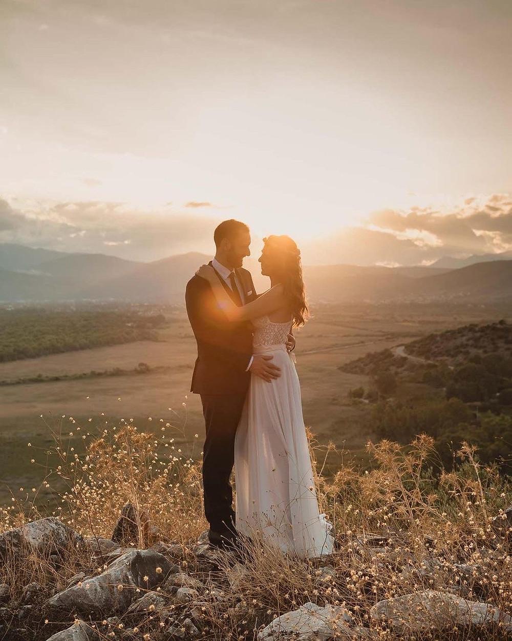 Φωτογράφιση στη Δύση του Ηλίου στην περιοχή Σχινιά του Μαραθώνα