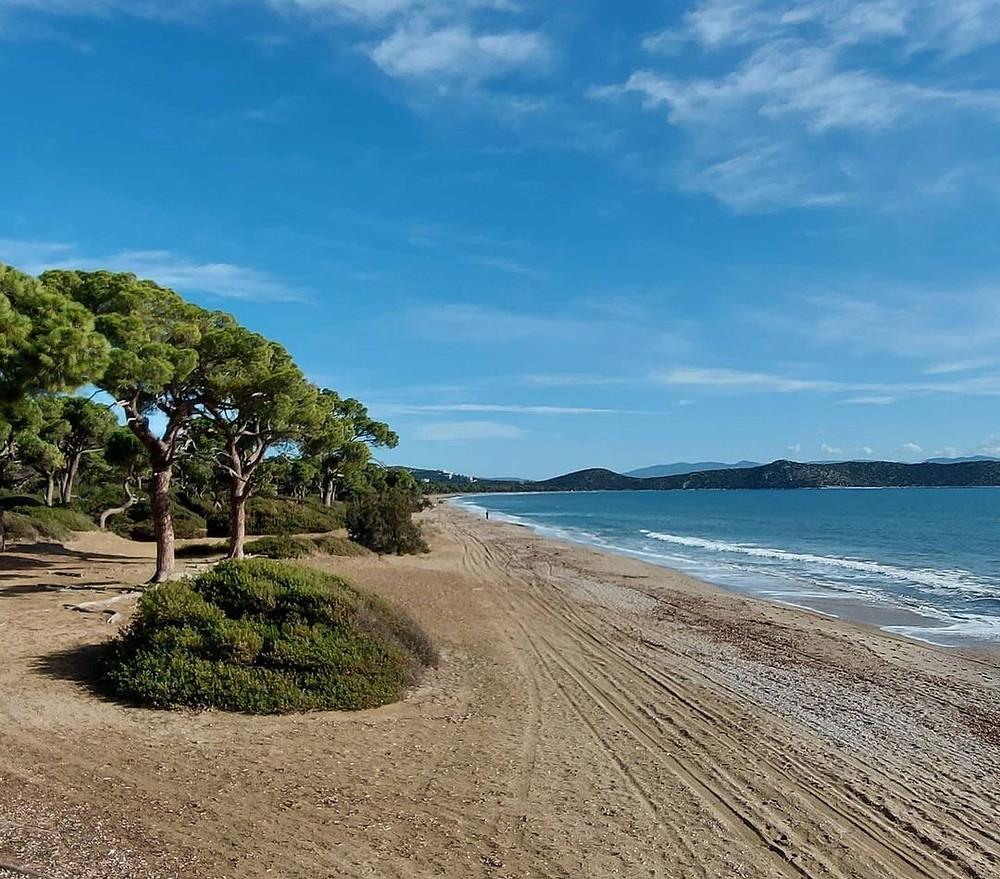 Η παραλία Σχινιά