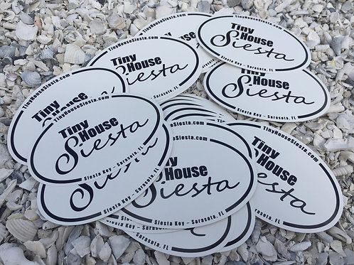 Tiny House Siesta - The sticker