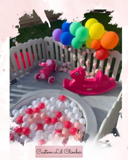 Rainbow Baby Party :)