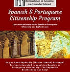 Spanish & Portuguese Citizenship Program