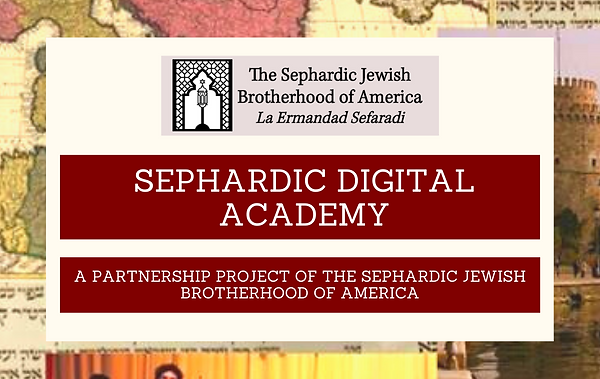 Copy of Class - Sephardic Learners Kitch