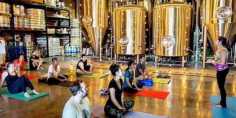 Brewery Yoga & Keytones Party