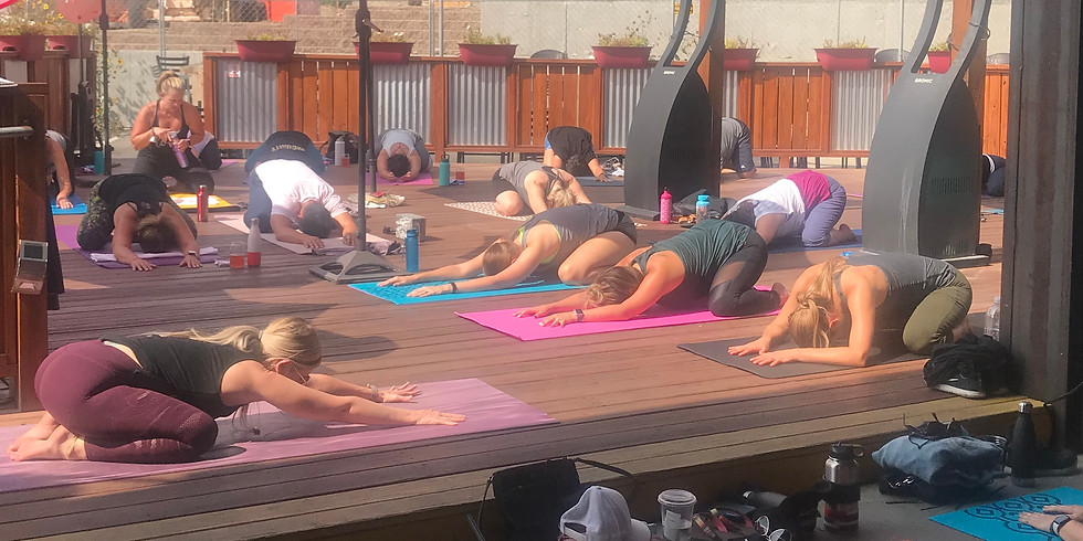 Yoga on the Deck! CANCELED- See you in the spring!