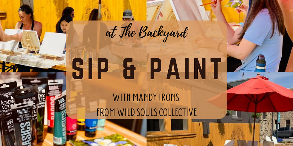 Sip & Paint with Mandy Irons