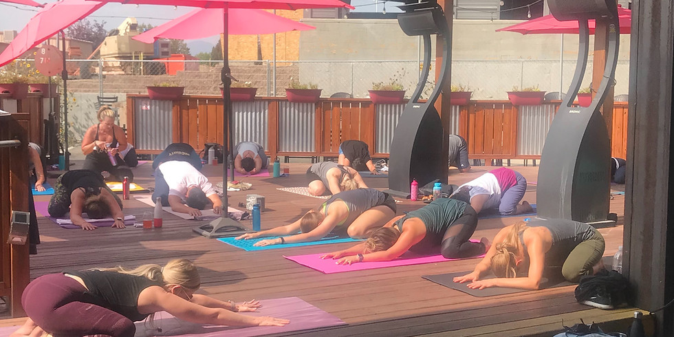 Yoga on the Deck @ Rails End Beer Company