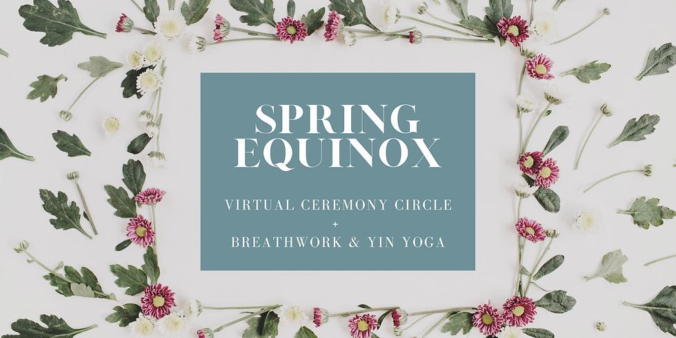 (virtual) Spring Equinox Ceremony Circle