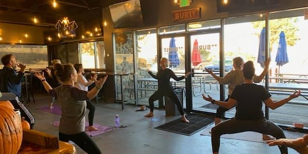 Brewery Yoga @ Burly (Castle Rock) with Ketones Tasting