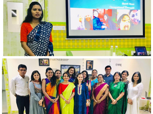 Autism Intervention Training Program at Ummeed- Mumbai