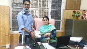 Inclusion bands distribution to Administrative officer of Anni Subdivision of Distt Kullu.