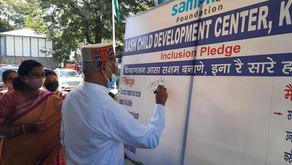 Inclusion pledge Inaugurated by Honourable  Governor of HP Sh.RV Arlekar for PWDs in kullu.