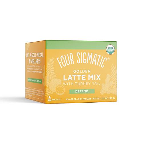 Golden Latte with Shiitake & Turmeric (10 bags)
