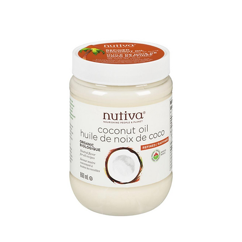 Nutiva - Organic, Refined Coconut Oil (860ml)