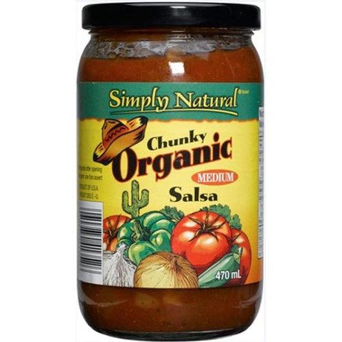 Simply Natural Chunky Organic - Medium Salsa