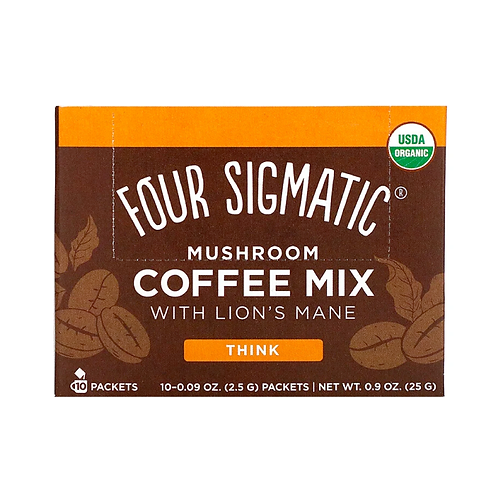 Coffee with Lion's Mane & Chaga mushroom (10x2.5gr)