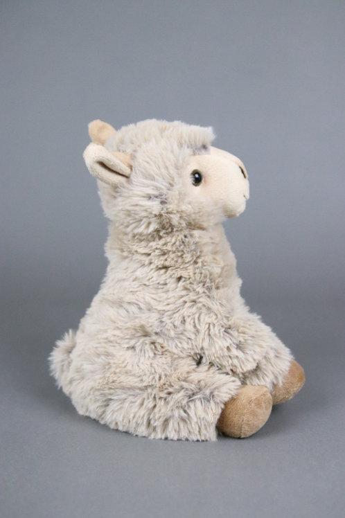 """Alpaka Stofftier """"Linus"""" sitzend"""