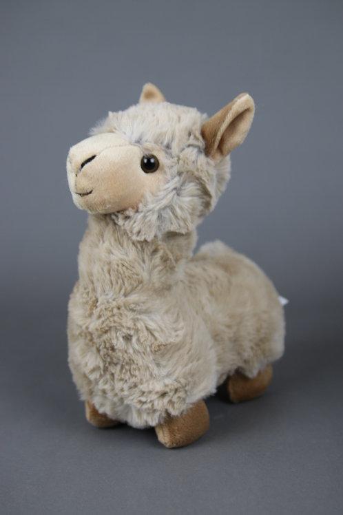 "Alpaka Stofftier ""Linus"" stehend"