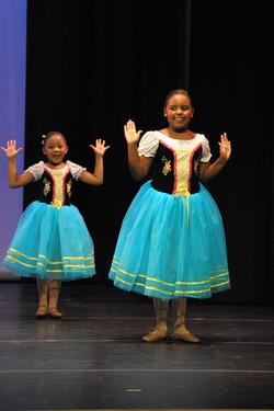 Dollhouse Ballerinas
